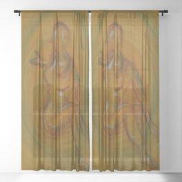 Mystic Yoga Sheer Curtain