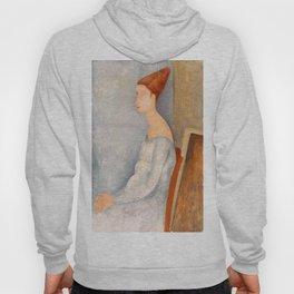 """Amedeo Modigliani """"Portrait of Jeanne Hébuterne"""" Hoody"""