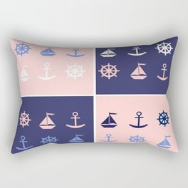 AFE Nautical Elements Rectangular Pillow
