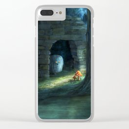 The Toadstools Clear iPhone Case