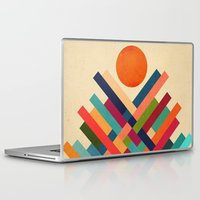sun Laptop & iPad Skins featuring Sun Shrine by Picomodi