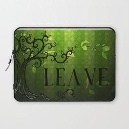 LEAVE - Summer Green Laptop Sleeve