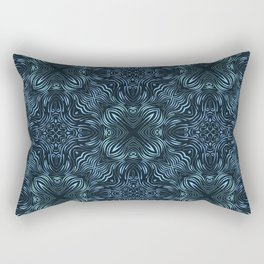 flowing lines pattern 2 Rectangular Pillow