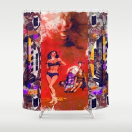 He is Coming Again Shower Curtain