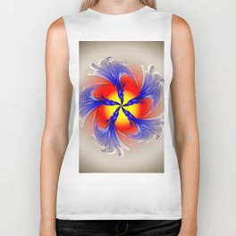 Abstract - Perfection 49 Biker Tank