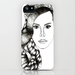 Lana Del lovely iPhone Case