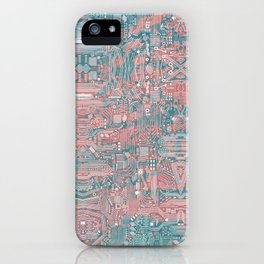 Circuitry Details 2 iPhone Case