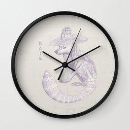 Sombrero Hola Fox Wall Clock