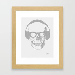 This Music Kills Me  Framed Art Print