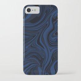 Liquify 3 (blue) iPhone Case