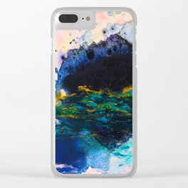 Shadows of Myself Clear iPhone Case