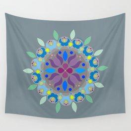 Flower Mandala N.2 Wall Tapestry