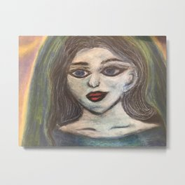 The Maiden cloaked in starlight Metal Print