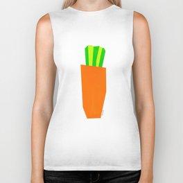 Food Vegetable Painting Illustration Vegan Vegetarian Pop Modern Scandinavian Biker Tank