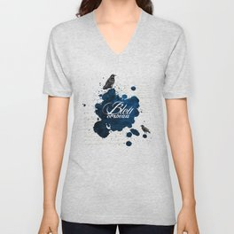 Bleu Corbeau Unisex V-Neck
