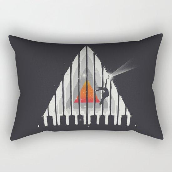 Cosmic Piano Rectangular Pillow