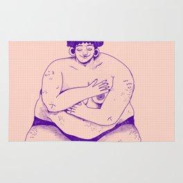 Fat Babe Club Rug
