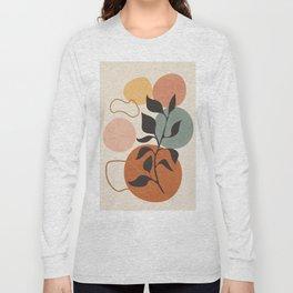Abstract Minimal Shapes 23 Long Sleeve T-shirt