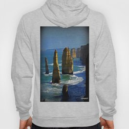 Limestone Rock Stacks - Twelve Apostles Hoody