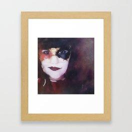 Venetian harlequin Framed Art Print