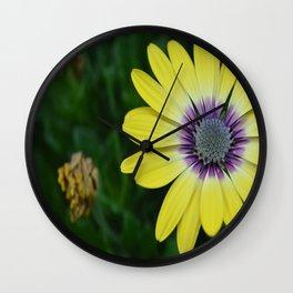 Flower Up Close Wall Clock