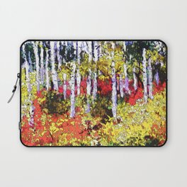 Title: Glorious Colors - digital Silk Screen Laptop Sleeve
