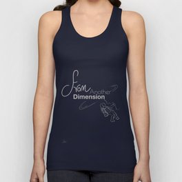 space - from another dimension Unisex Tank Top