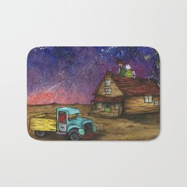 The Middle of Nowhere Bath Mat