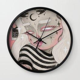 Teenage Ghoul Wall Clock