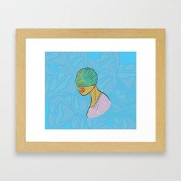 Electric Griot: Blind Framed Art Print