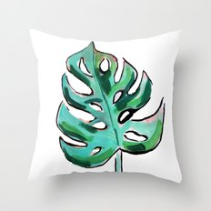 Life In The Shaded, Warm Air Is Good For The Soul II Throw Pillow