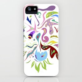 My pieces of invisible worlds II iPhone Case