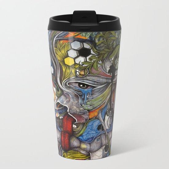 -.O Metal Travel Mug