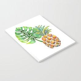 Monstera Pineapple Notebook