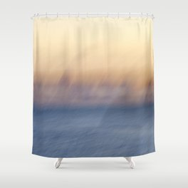 Sunset Ghosts Shower Curtain