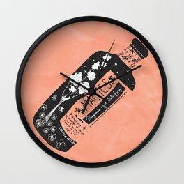 Magics... -orange- Wall Clock