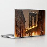brooklyn Laptop & iPad Skins featuring Brooklyn by Rochana Dubey