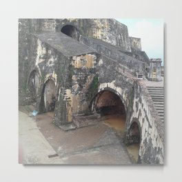 The grand Stairs Metal Print