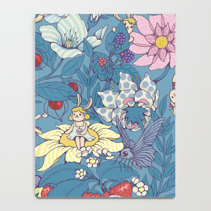 Garden party - lady gray version Notebook