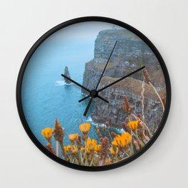 Irish Wildflowers Wall Clock