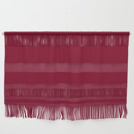 Solid Color Series - Burgundy Red Wall Hanging