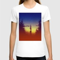 tolkien T-shirts featuring Wander Night Noise by Stoian Hitrov - Sto