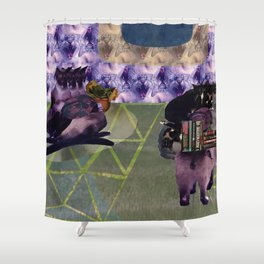 Everything is cats. All things are cats? Shower Curtain
