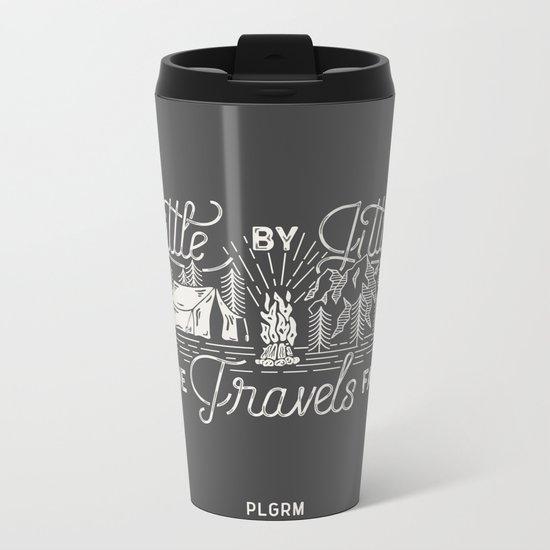 Little By Little Metal Travel Mug