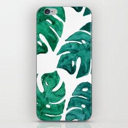 Watercolor Leafs II iPhone Skin