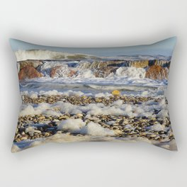 Foamy Sea Rectangular Pillow