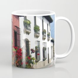 Flower Wagon at Old Antigua, Guatemala Coffee Mug