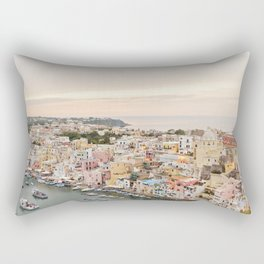 Island of Procida Rectangular Pillow