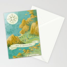 Moominvalley Map Interpretation (1/3) Stationery Cards