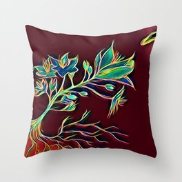Every Planet We Reach is Dead Throw Pillow